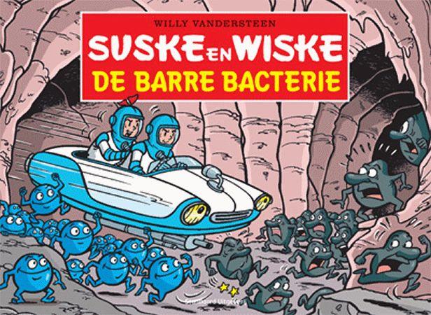 suske en wiske. de barre bacterie