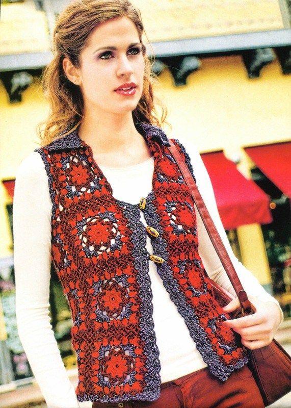 Crochet vest — Crochet by Yana