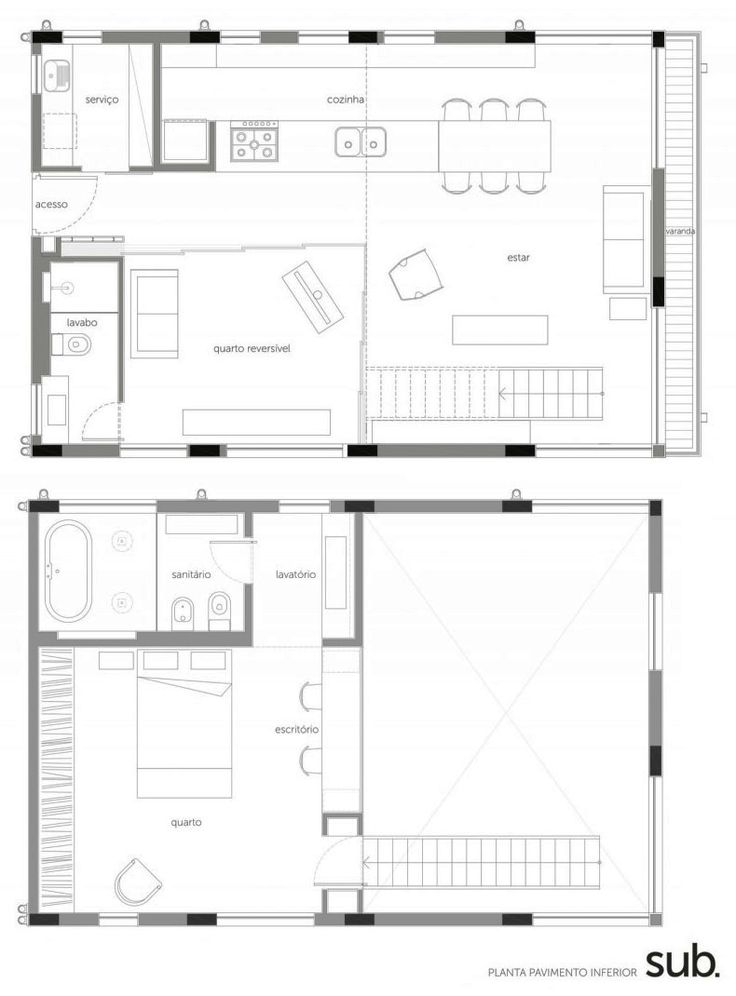 floor plan (by Sub Estudio)