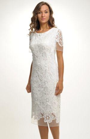 Svatební šaty z luxusní krajky
