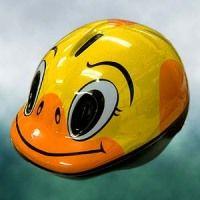 子供用ヘルメット(アヒルバージョン)のご紹介: 倉庫スタッフの牛飲馬食BLOG