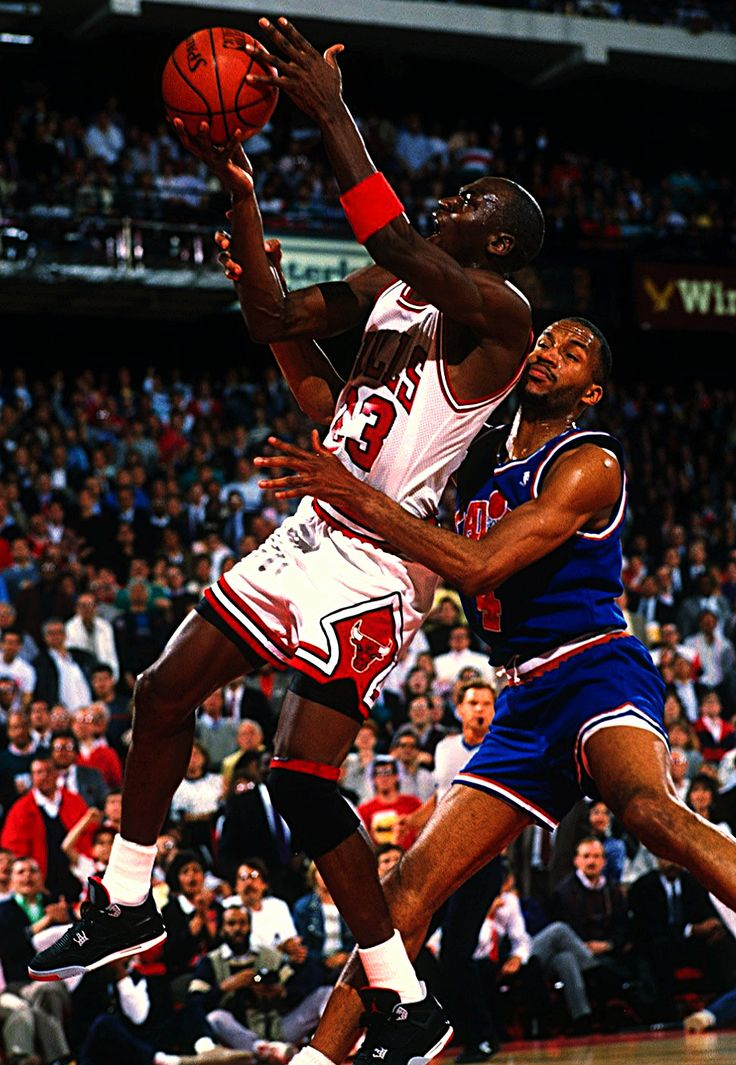 Ron Harper Can't Stop Mike, '89 East Quarterfinals.