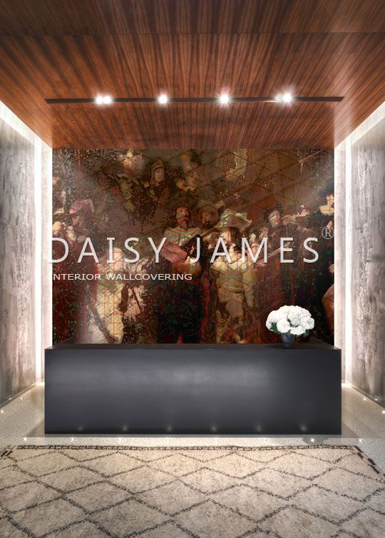 DAISY JAMES wallcover Old and New