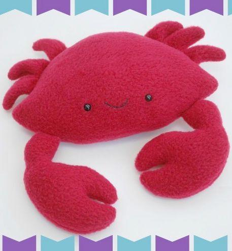 As suas crianças vão adorar este caranguejo de feltro que vamos ensinar você a fazer e ainda disponibilizar o molde da peça. E você ...