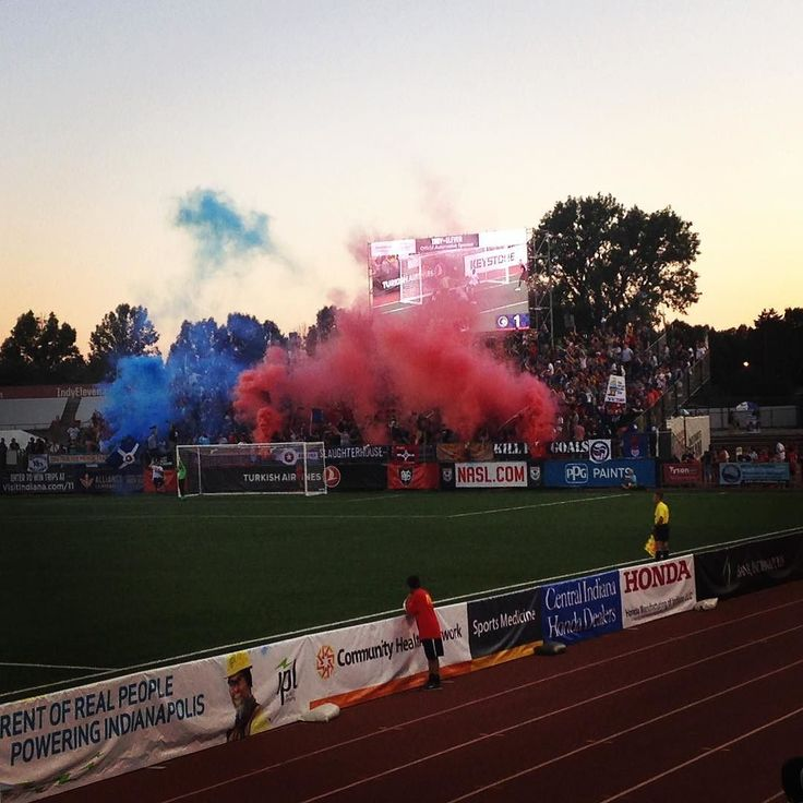Home team scores again - corner kick to head ball!! Indy Eleven! 2-1 #brickyardbattalion #indyeleven #indysoccer #soccer
