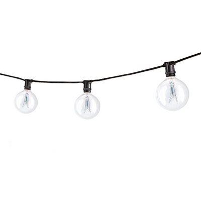 Bulbrite STRING15/E12 15 Light String Light with Incandescent Globe Bulbs