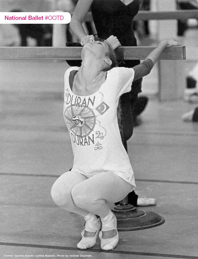Outfit of the Day: In 1984, Duran Duran was everywhere, even in company class at The National Ballet of Canada.