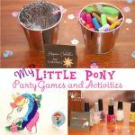 My Little Pony Games ~ Perfect for a My Little Pony Birthday Party