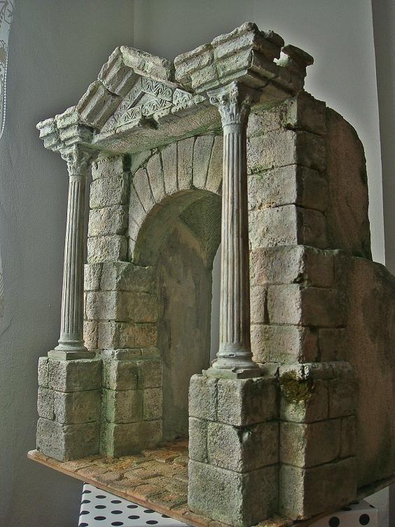 Foro de Belenismo - Arquitectura y paisaje -> arco entrada a pueblo