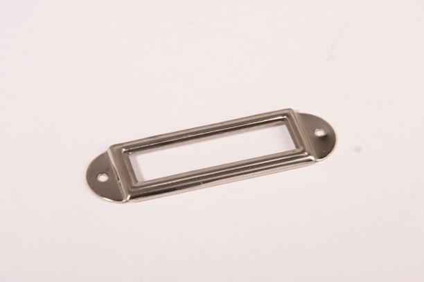 Etikettenhalter Nickel 50 mm [064 810 0050 00N] : Nieuwlaat ...