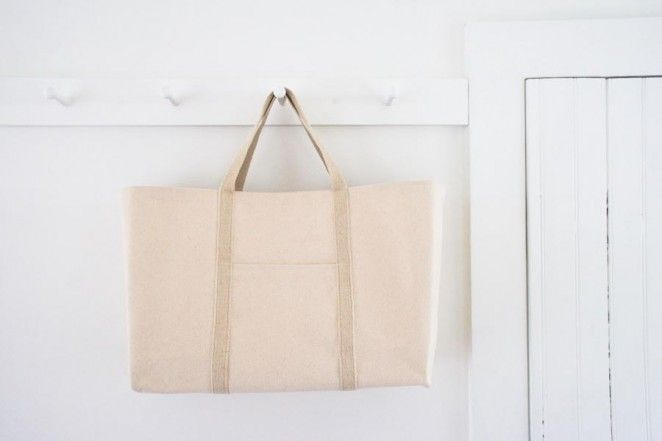 Big Boat Tote, free pattern and tutorial   The Purl Bee