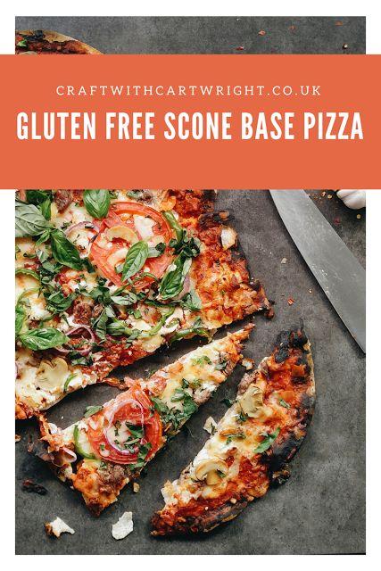 Gluten free scone based pizza recipe