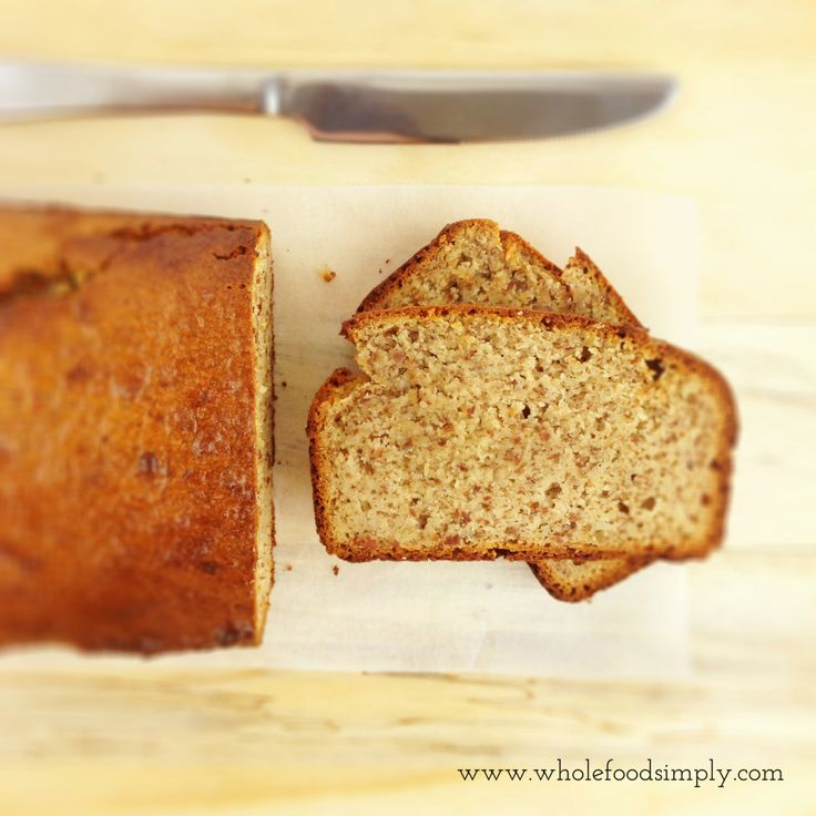 Simple and delicious Almond Bread. Free from gluten, grains, dairy and refined sugar. Enjoy.