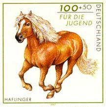 German horse stamp
