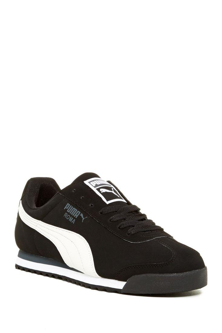 Puma Roma: Black · Gym FashionPumas ShoesAthletic ...