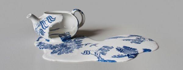 Livia Marin's Melted Ceramics