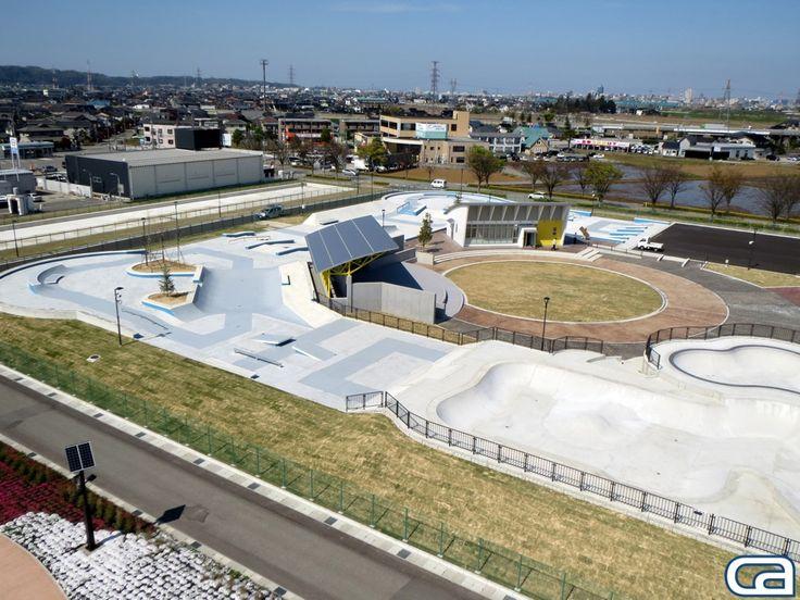 awesome interior skatepark designs - Google Search