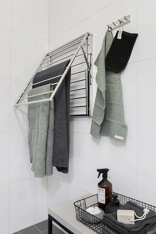 Handdukstork/Tvättställning