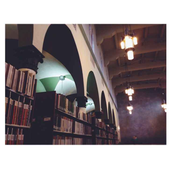 Library. Woodbury University. Burbank, California. February, 2014.