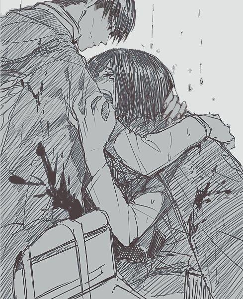 mikasa TT^TT i feel like this is what would happen if eren died