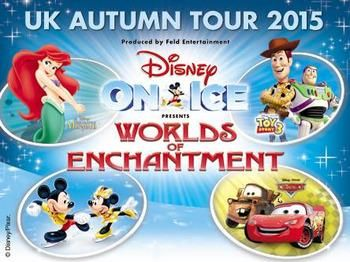 Tickets to Disney On Ice Worlds of Enchantment at The Manchester Arena NOW from £19