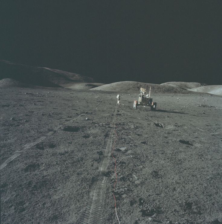 SO, NASA Got Sick of all that Conspiracy Thing and Released over 10,000 Photos from the Apollo Moon Mission -