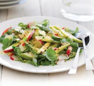 Apple, avocado and watercress salad recipe- perfect for summer!  | Australian Healthy Food Guide
