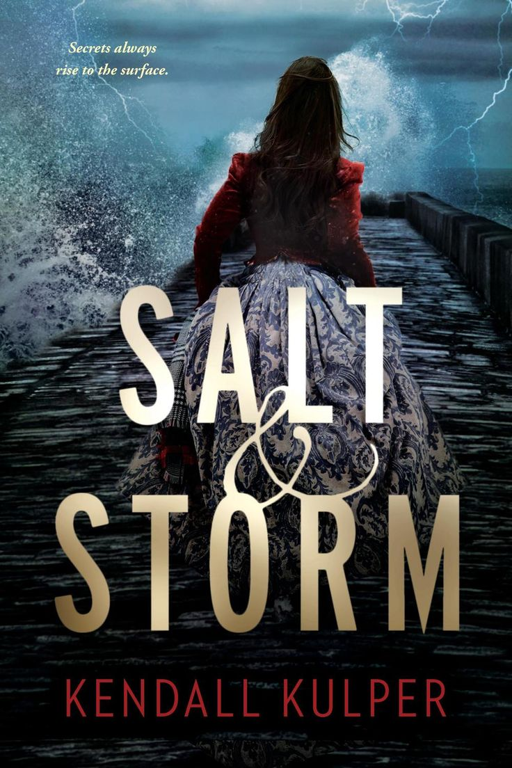Paperback Cover Reveal: Salt & Storm By Kendall Kulper On Sale August 11th  2015