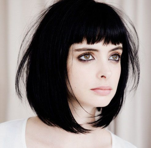 Hairstyles and Haircuts With Bangs (11)