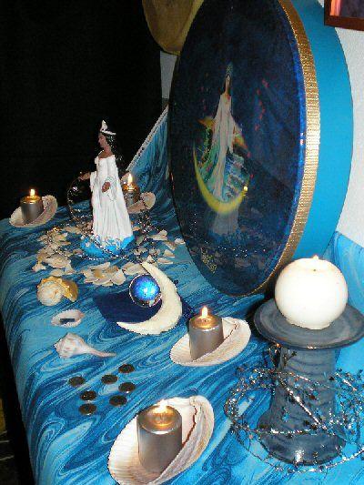 Altars:  Yemaya #Altar.