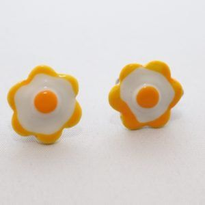 Easy Like Sunday Morning Clip On Earrings by DolceDetroitNina