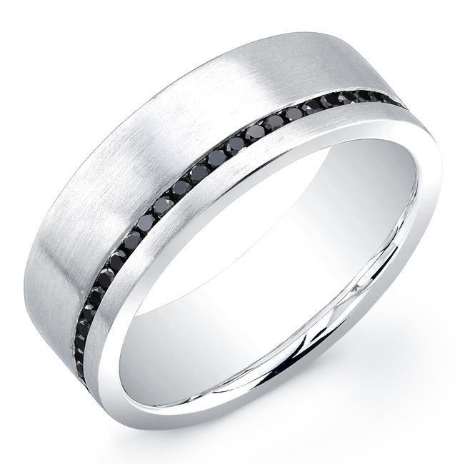 Platinum Diamond Engagement Rings For Men 36