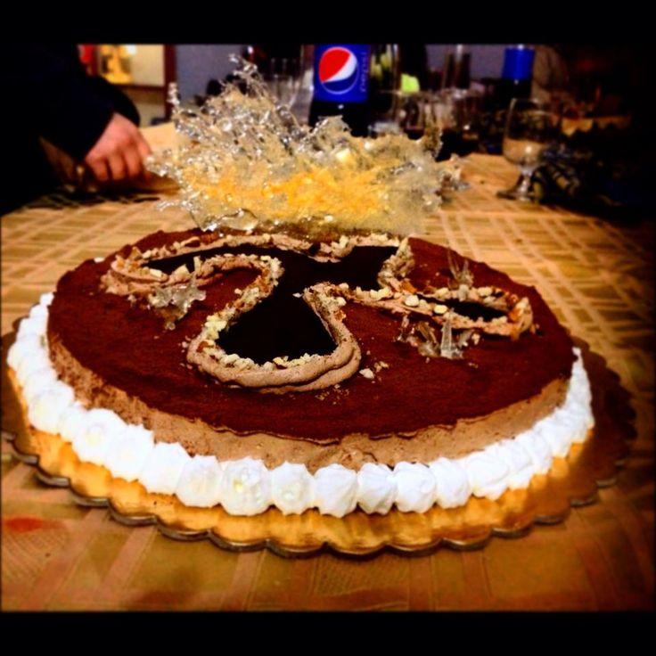 torta incas realizzata da mia figlia Denise di 14 anni..