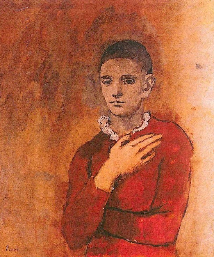 Pablo Picasso - Garcon a la Collerette - 1905