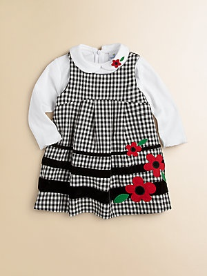 Florence Eiseman Toddlers & Little Girls Check Jumper