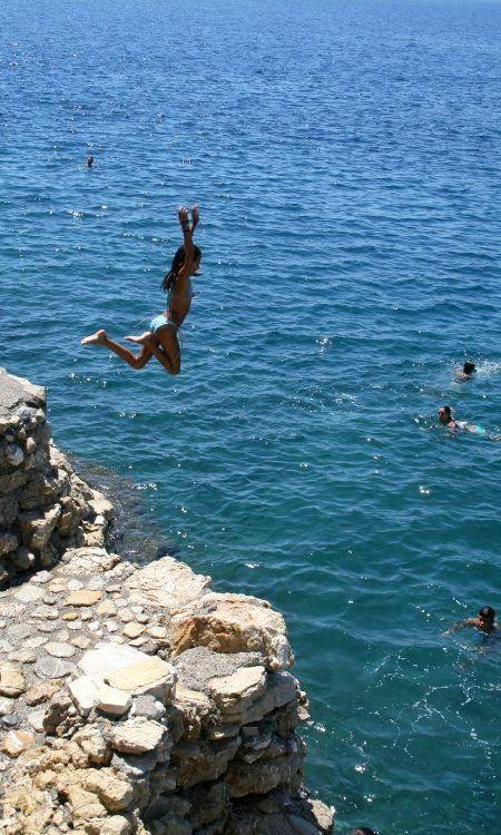Beaches and diving fun in Paralio Astros - Kinouria, Arcadia, Greece