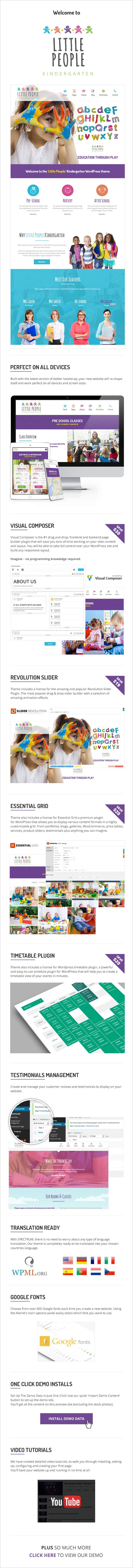 KINDERGARTEN Wordpress theme, is a purpose built theme that will deliver an easy to use kindergarten, child care or nursery wordpress website. Packed with every premium wordpress plugin you will ev...