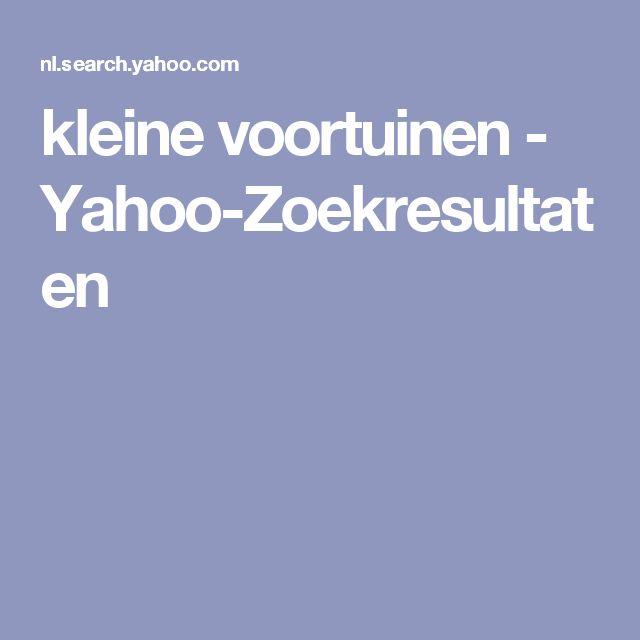 kleine voortuinen - Yahoo-Zoekresultaten