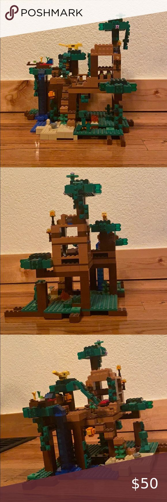 Minecraft LEGO jungle tree house Set number 21125 in 2020