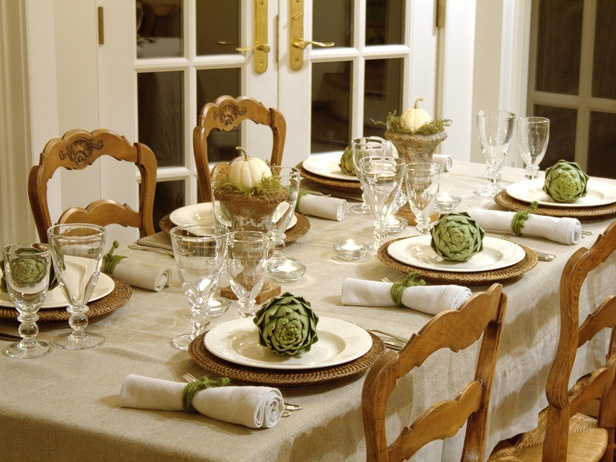 Idea to note: add sage pitcher to center of table with limbs; add paper leaves with everyone's blessings written on them