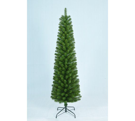 buy home 6ft pencil christmas tree green at. Black Bedroom Furniture Sets. Home Design Ideas