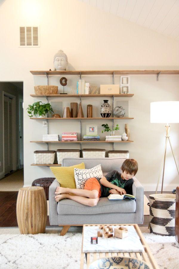 Dana At House Tweakingu0027s Styled Shelves