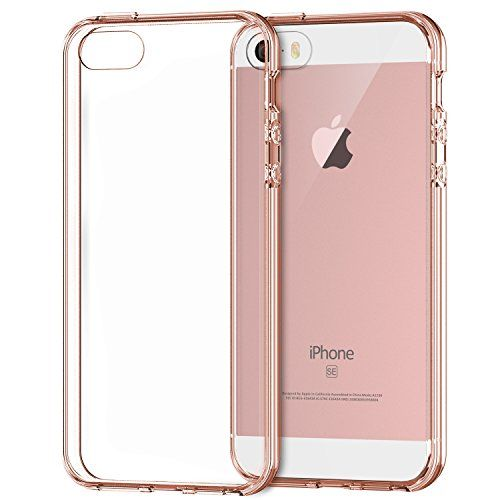 iPhone 5s Case, Rankie iPhone SE Case Shock-Absorption Bumper with Anti-Scratch Clear Back for Apple iPhone 5 5S SE (Rose Gold) Rankie http://www.amazon.co.uk/dp/B01B1P06GK/ref=cm_sw_r_pi_dp_6sg9wb0QMMT8C