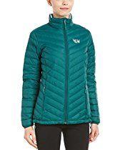 Mountain Hardwear Micro Ratio Down Jacket - Women's Botanical Garden / Spray XS