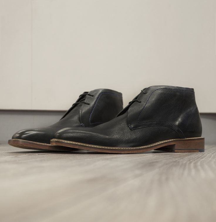 Do effortless cool. Classic chukka cut from Ted Baker with contrast stitch detailing for that extra dash of classy.