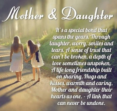 A beautiful selection of short, emotional and funny Mother Daughter Quotes and…