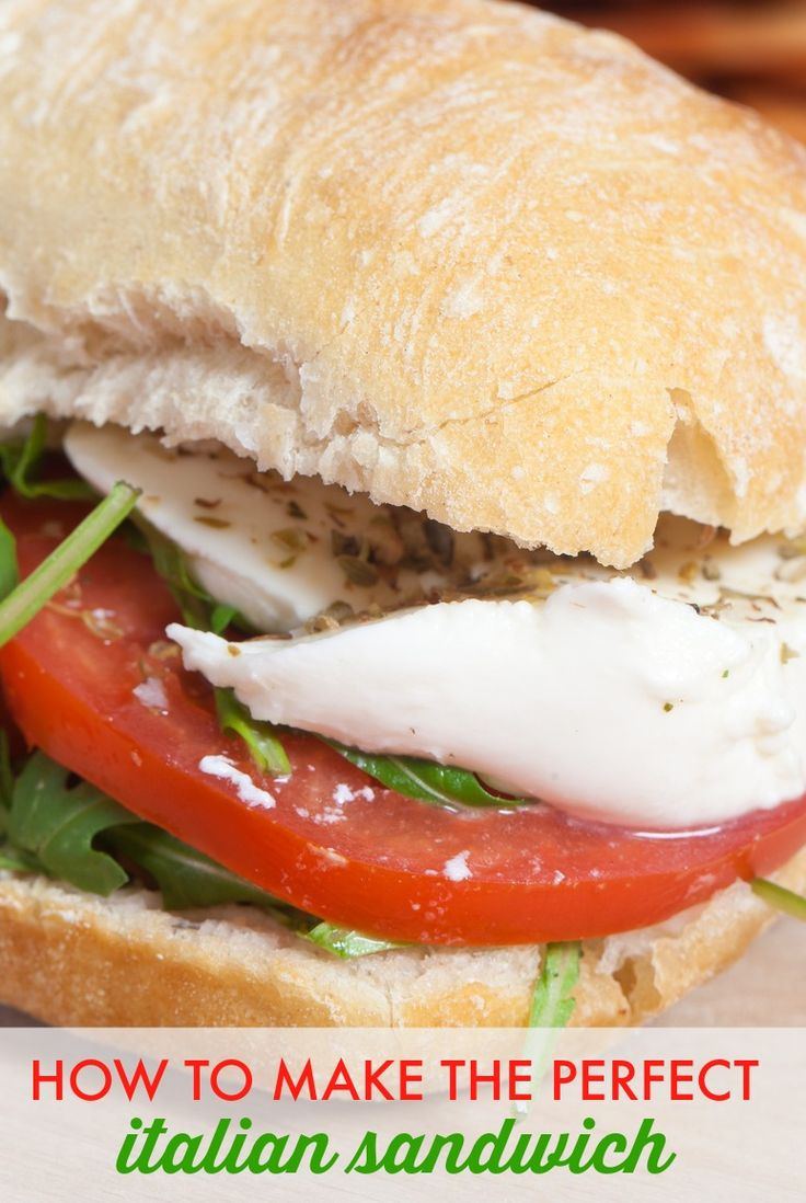 The Italian Sandwich makes it possible to create a summery sandwich that's nutritious, satisfying, flavorful, and best of all, SIMPLE for working moms.