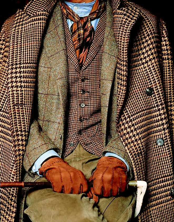 """Tweed. Do you think this is just a """"little"""" overdone? CC"""