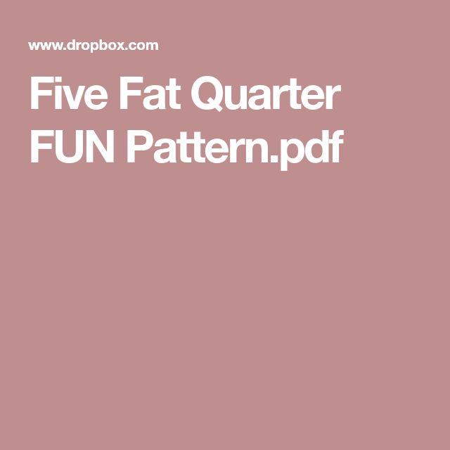 Five Fat Quarter FUN Pattern.pdf