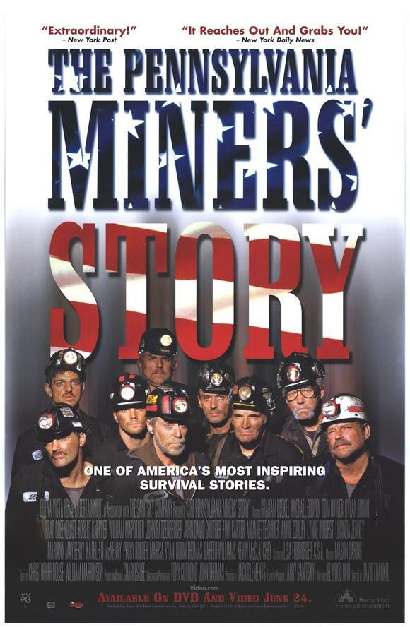 The Pennsylvania Miners' Story Movie Poster 27X40 Used Kevin McClatchy, Michael Bowen, Jeff Hochendoner, John Ratzenberger, Tom Bower, Dylan Bruno, William Mapother, Lucinda Jenney, Gareth Williams, Jack Baun, Marisa Ryan
